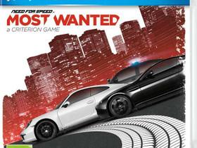 Need for Speed Most Wanted 2012 PS3, Pelikonsolit ja pelaaminen, Viihde-elektroniikka, Lahti, Tori.fi
