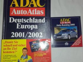 Adac Auto Atlas - Deutschland Eurooa, Muut kirjat ja lehdet, Kirjat ja lehdet, Loppi, Tori.fi