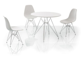 Nitro -pöytä+3 Lino-tuolia 21/kk korko 0%,, Pöydät ja tuolit, Sisustus ja huonekalut, Helsinki, Tori.fi