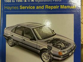 Haynes Pugeot 405 Repair manual, Lisävarusteet ja autotarvikkeet, Auton varaosat ja tarvikkeet, Nurmijärvi, Tori.fi
