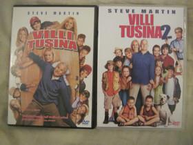 Steve Martin dvd:t Villi tusina ja Villi tusina 2, Elokuvat, Imatra, Tori.fi