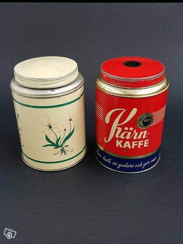 Vanha kahvipurkki