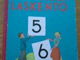 Kansakoululaisen laskento 5-6 v.1963, Lastenkirjat, Kirjat ja lehdet, Jyväskylä, Tori.fi