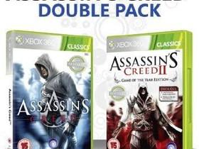 Assassin's Creed + Assassin's Creed II GOTY X360, Pelikonsolit ja pelaaminen, Viihde-elektroniikka, Lahti, Tori.fi