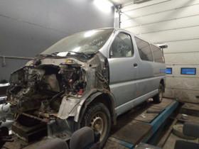 Toyota Hiace 2,5D pitkä -05, Autovaraosat, Auton varaosat ja tarvikkeet, Jämijärvi, Tori.fi