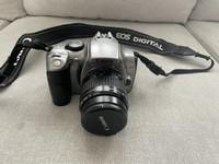 Canon EOS 300D + 35-80mm objektiivi