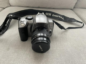 Canon EOS 300D + 35-80mm objektiivi, Kamerat, Kamerat ja valokuvaus, Kokkola, Tori.fi