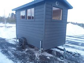 Siirrettävä mökki, talovaunu, sauna ym, Asuntovaunut, Matkailuautot ja asuntovaunut, Miehikkälä, Tori.fi