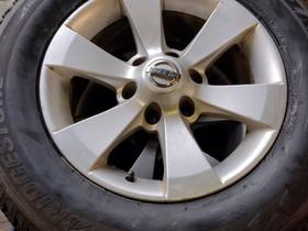 """Nissan  Pathfinder 17"""" alut uusilla nastarenkailla, Renkaat ja vanteet, Seinäjoki, Tori.fi"""