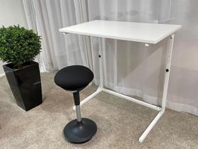 Säädettävä pieni työpöytä Home&Office 60x100cm, Pöydät ja tuolit, Sisustus ja huonekalut, Seinäjoki, Tori.fi