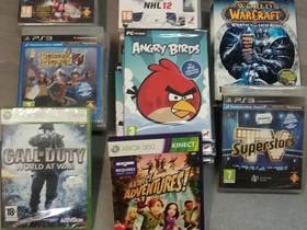Pelejä PC, PS3 ja Xbox360. Uusia. Erilaisia, Pelikonsolit ja pelaaminen, Viihde-elektroniikka, Harjavalta, Tori.fi