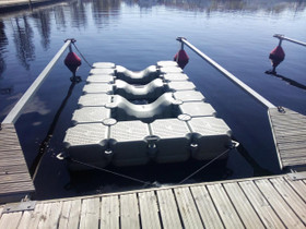 Jettilaituri 2x3,5m säästömalli, Veneen varusteet ja varaosat, Venetarvikkeet ja veneily, Nokia, Tori.fi