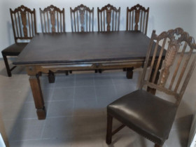 Pöytä+6 tuolia, Pöydät ja tuolit, Sisustus ja huonekalut, Ähtäri, Tori.fi