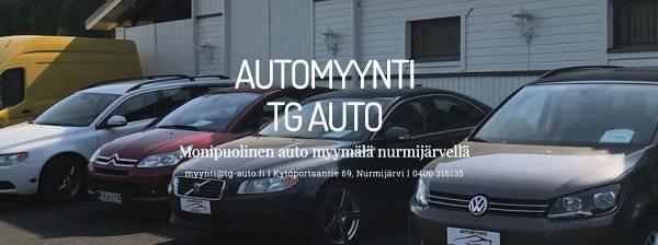 Automyynti TG Auto