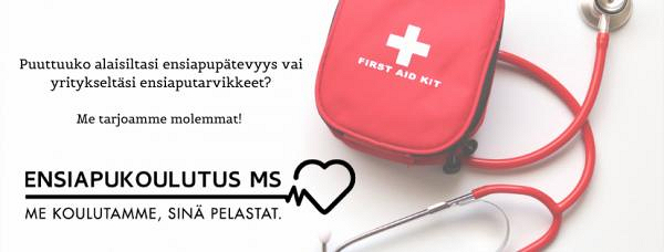 Ensiapukoulutus MS Oy