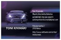 Automyynti Toni Kivimäki